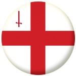London Town / City Flag 25mm Pin Button Badge